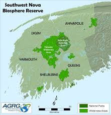 Nova Map South West Nova United Nations Educational Scientific And