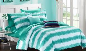 Tie Dye Comforter Set Logan Stripe Tie Dye Comforter Set With Sheets Included 7 Or 9