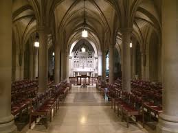 National Cathedral Interior Going Underground At The Washington National Cathedral Here By