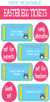 easter egg tickets the egg hunt candy alternative free