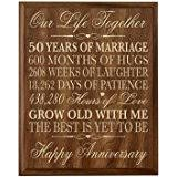 50th wedding anniversary gifts for parents and 50th anniversary gift parents golden