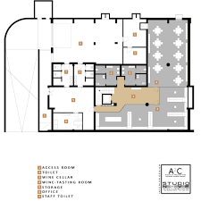 floor plan restaurant gallery of inkiostro restaurant studio nove u0026 a2c 25