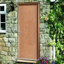 Exterior Flush Door Exterior Flush Door Fd60 Dwlg