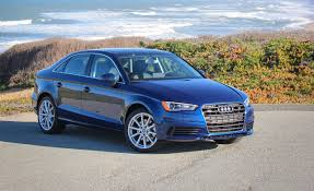 blue girly cars 2015 audi a3 sedan first drive 1 8t 2 0t u2013 review u2013 car and driver