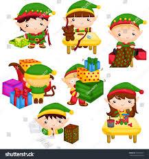 elf santas workshop stock vector 365622227 shutterstock