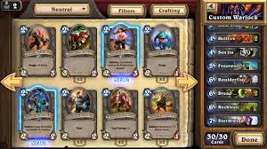 hearthstone android hearthstone heroes of warcraft released for android iphone