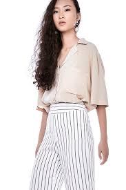 oversized blouse anderia oversized shirt the editor s market