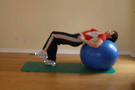 Pilates Ball Chair Size by Exercises For Posture