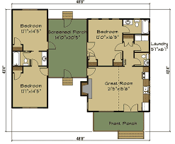 plan 92377mx 3 bed dog trot house plan with sleeping loft dog