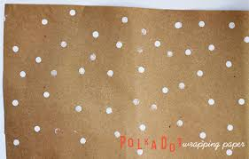 polka dot wrapping paper diy polka dot wrapping paper squirrelly minds