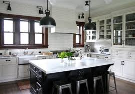 white kitchen with black island white kitchen black island