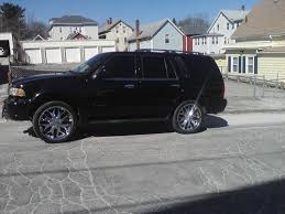 Used 24 Inch Rims Sell Used 2002 Lincoln Navigator Fully Loaded Custom 24 Inch