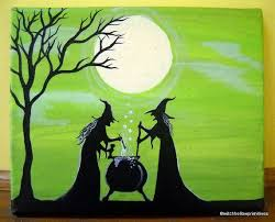 25 trending witch painting ideas on pinterest witches