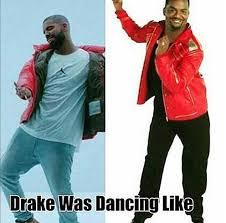 New Drake Meme - drake awkward dance moves in new music video spark hilarious memes