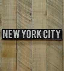 Wood Signs Home Decor Distressed New York City Wood Art Home Decor U0026 Lighting