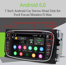 radio for ford focus joying automotive black 7 inch 2 din android 6 0 1