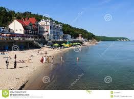 baltic sea beach svetlogorsk editorial image image 37259875