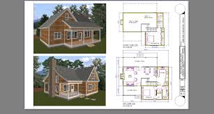cabin design and plan home small 1bath with loft floor plans two