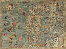 World Map With Seas by Old Sea Map With Monsters Sea Monsters And Map Illustrations