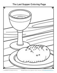 Bible Coloring Pages For Kids The Last Supper Last Supper Coloring Page