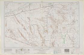 Map Of Western United States United States Topographic Maps 1 250 000 Perry Castañeda Map