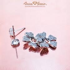 earring jackets for studs doris diamond studs and petal earring jackets brian gavin