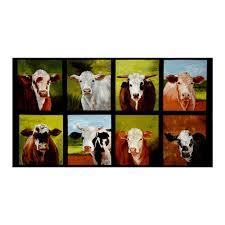 Cow Home Decor Kaufman Down On The Farm 23 5