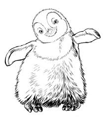happy feet coloring pages regarding inspire to color an images