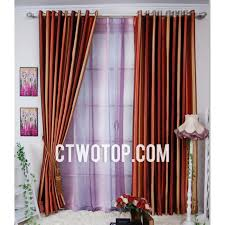 Burnt Orange Curtains Burnt Orange Curtains Orange Simple Striped Fancy Beautiful Modern
