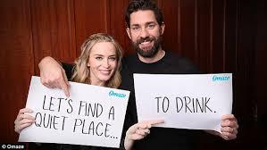 Seeking Hilarious Emily Blunt And Krasinski Post Hilarious Date