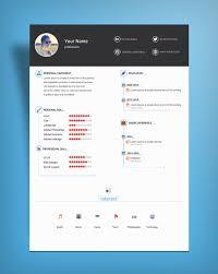 free minimal u0026 clean resume template psd file good resume