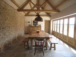 the french tangerine house story they used stone dining room