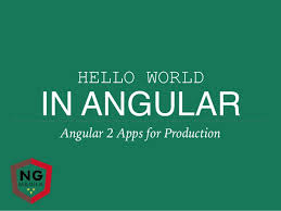 ngmanila codename fireball hello world in angular