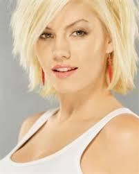 choppy blonde hairstyle choppy short haircut with long spiky bangs
