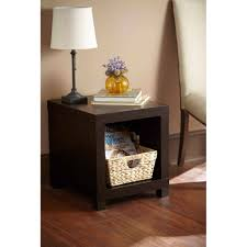 coffee table tall side table espresso walmart com gold accent