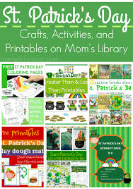 st patrick u0027s day crafts and activities on mom u0027s library from