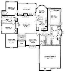 spacious one story home hwbdo11356 french country house plan