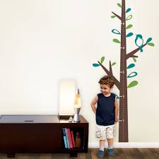 growth chart tree decal set growth chart tree wall decal