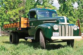 Ford Vintage Trucks - old trucks and tractors in california wine country travel photo