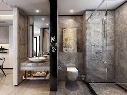 Bathroom Home Design Two Modern Interiors Inspired By Traditional Chinese Decor