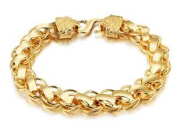gold bracelet chain styles images China gold bracelet men jewelry gold color chain link wholesale jpg