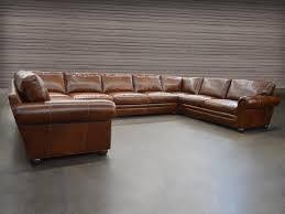 U Sectional Sofa Langston Leather U Sectional Sofa Leather Sectional