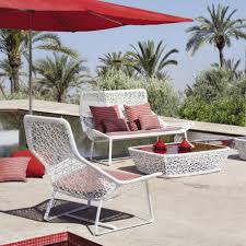 White Wrought Iron Patio Furniture by Complimenting Patio With Wrought Iron Patio Furniture