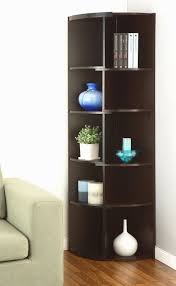 Corner Bookcase Bronx Bridges Corner Unit Bookcase Reviews Wayfair