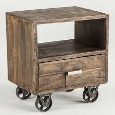nightstands reclaimed u0026 salvaged night stands bed side tables