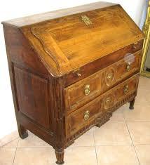 bureau secretaire antique meuble ancien bureau pente secrétaire dos d ane a secret louis xvi