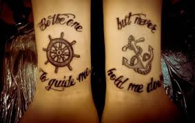 tattoo ideas for a sister to get for her brothers word tattoos on