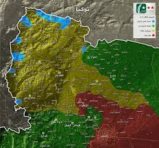 Beirut On Map Turkey Led Forces Roll Back Kurdish Frontier Near Border In