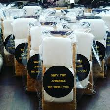 smores wedding favors may the s mores be with you party favor wars party favor