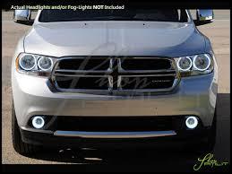 Dodge Durango White - oracle 11 13 dodge durango plasma halo rings headlights bulbs